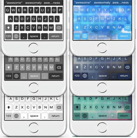 Color Keyboard ios-android developer